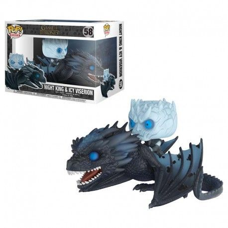 Game of Thrones - Night King & Icy Viserion (Glow in the Dark)