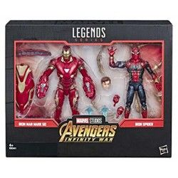 Iron man + Iron Spider pack 80th Anniversary Marvel Legends