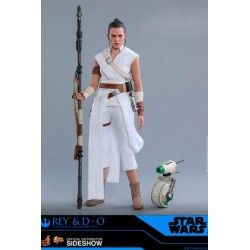 Rey & D-O Star Wars EP IX by Hot Toys