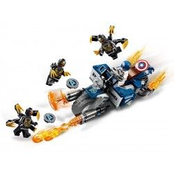Captain America Outriders Attack 76123, LEGO Marvel