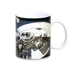 star trek TOS Taza Whorshop Manual USS Enterprise