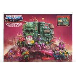 Castle of GRAYSKULL, Masters of the Universe